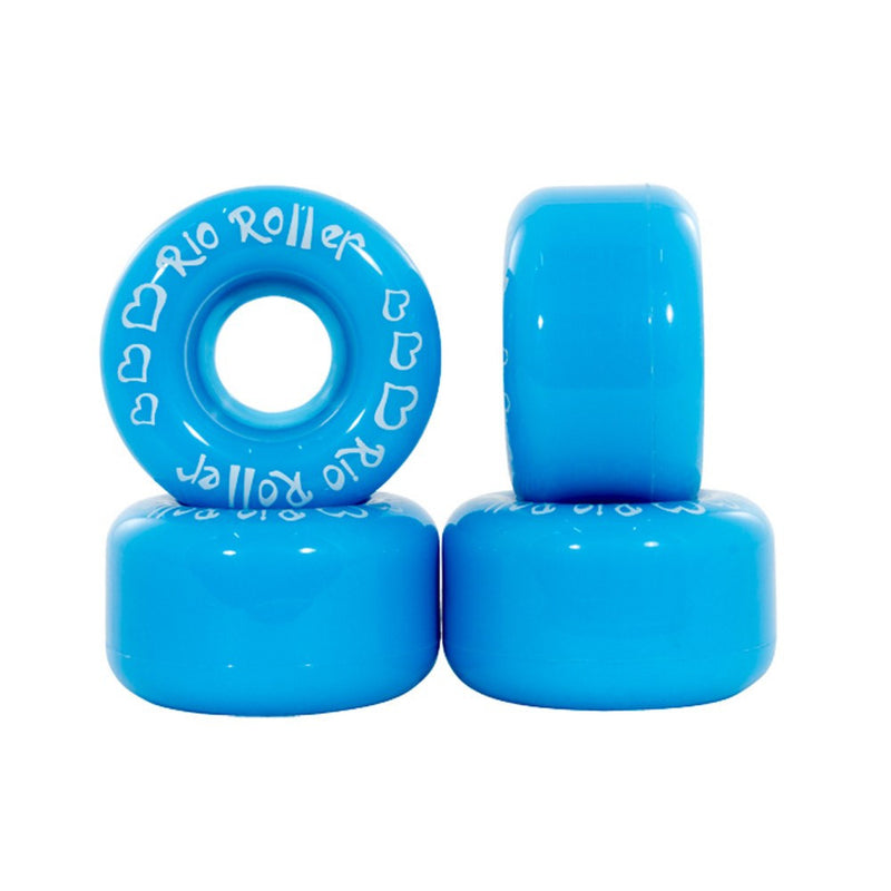 Rio Roller Coaster Blue Quad Skate Wheels