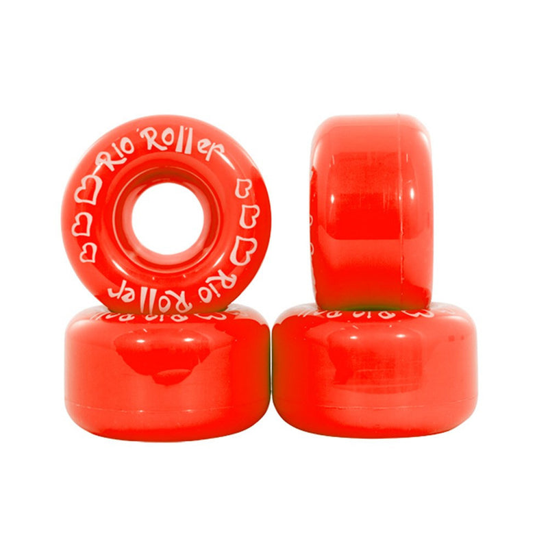 Rio Roller Coaster Red Quad Skate Wheels