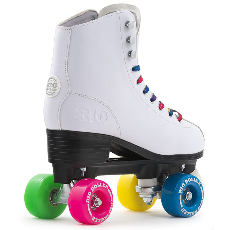 Rio Roller Figure Quad Roller Skates Rear View