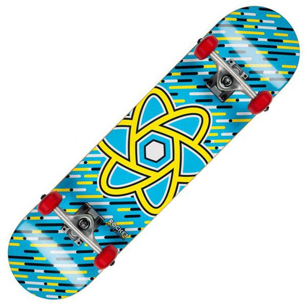 ROCKET BLUE SKATEBOARD - MAIN VIEW