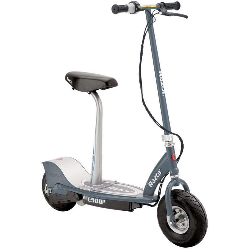 Razor E300S Seated Electric Scooter - Grey