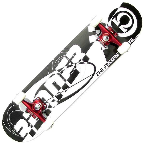 Renner C Series Logo Complete Skateboard - Main View