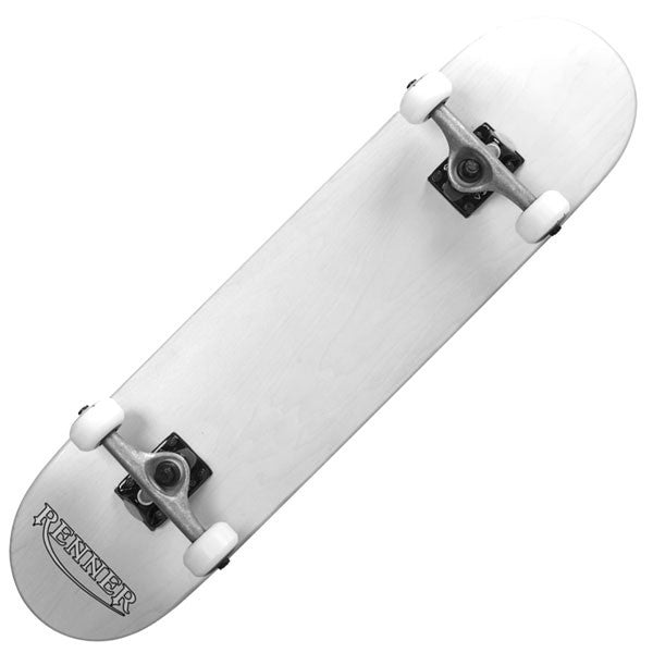 Renner Z Series Pro White Complete Skateboard - Main View