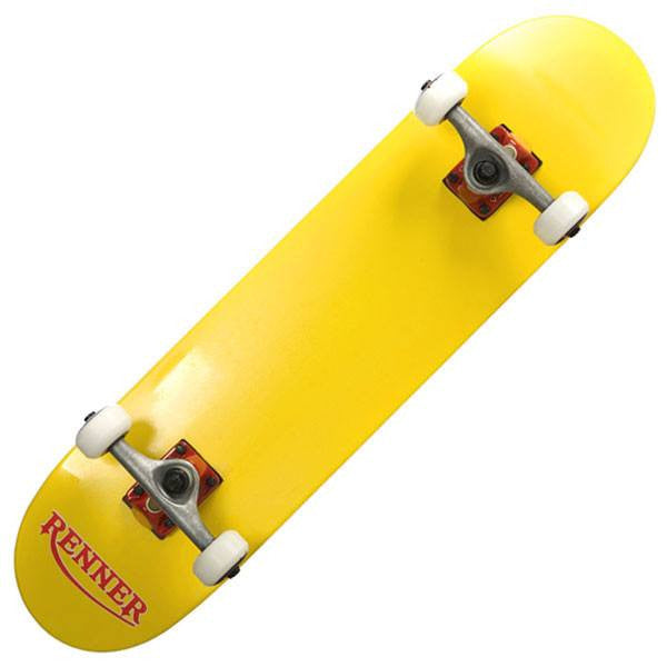 Renner Z Series Pro Yellow Complete Skateboard - Main View