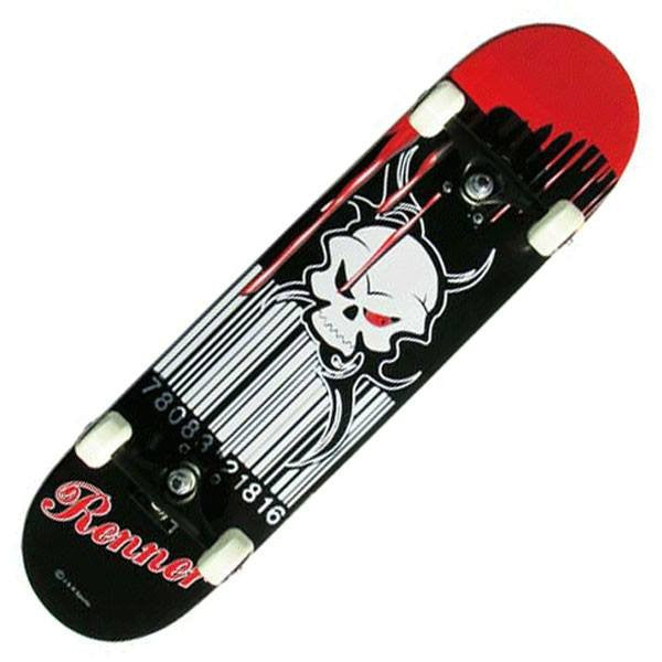 Renner A Series Blood Soaked Complete Skateboard - Main View