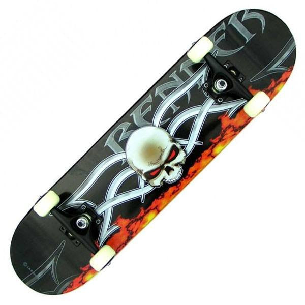 Renner A Series Devil's Eye Complete Skateboard - Main View