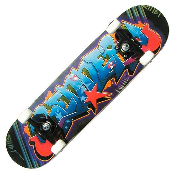 Renner A Series Graffiti Complete Skateboard - Main View