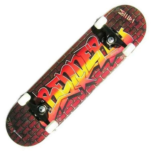 Renner A Series Graffiti Wall Complete Skateboard - Main View