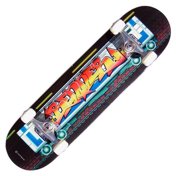 Renner B Series Graffiti on the Tube Complete Skateboard - Main View