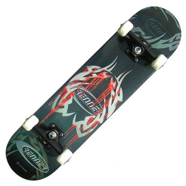 Renner C Series Blood Tattoo Complete Skateboard - Main View