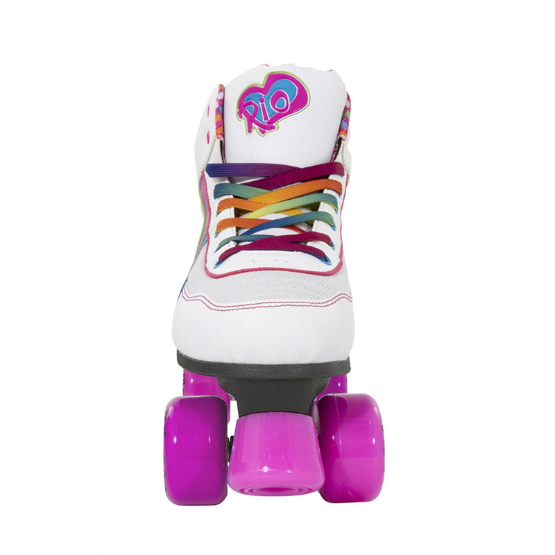 Rio Roller Cani Quad Roller Skates Front View