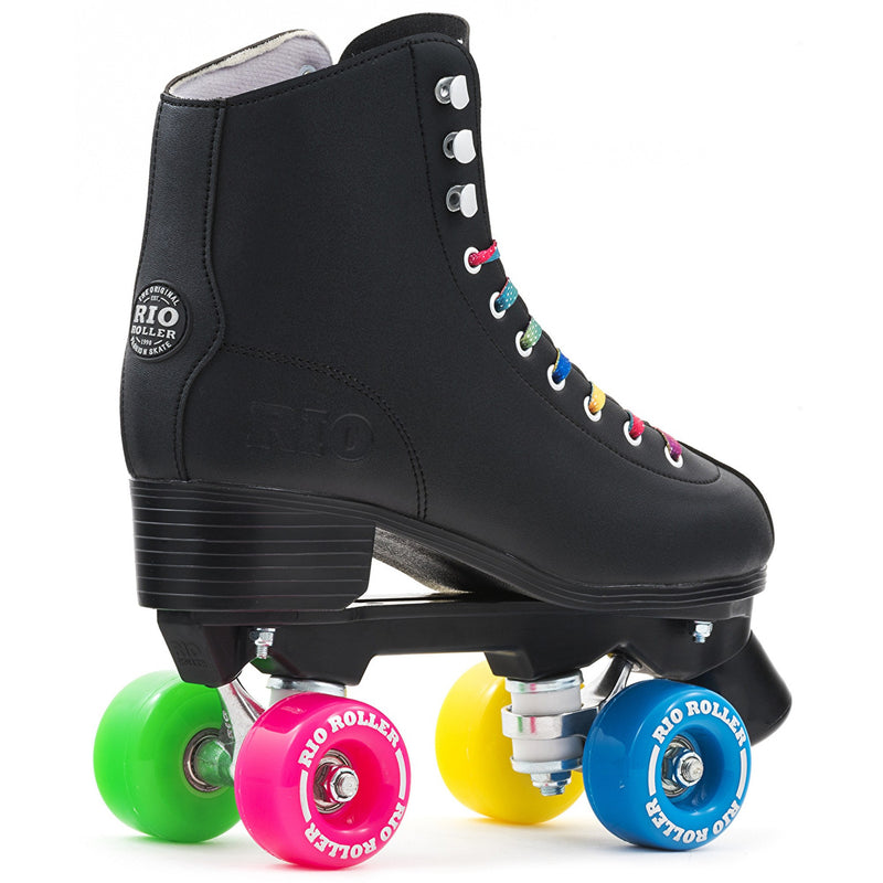 Rio Roller Figure Quad Roller Skates - Rear View