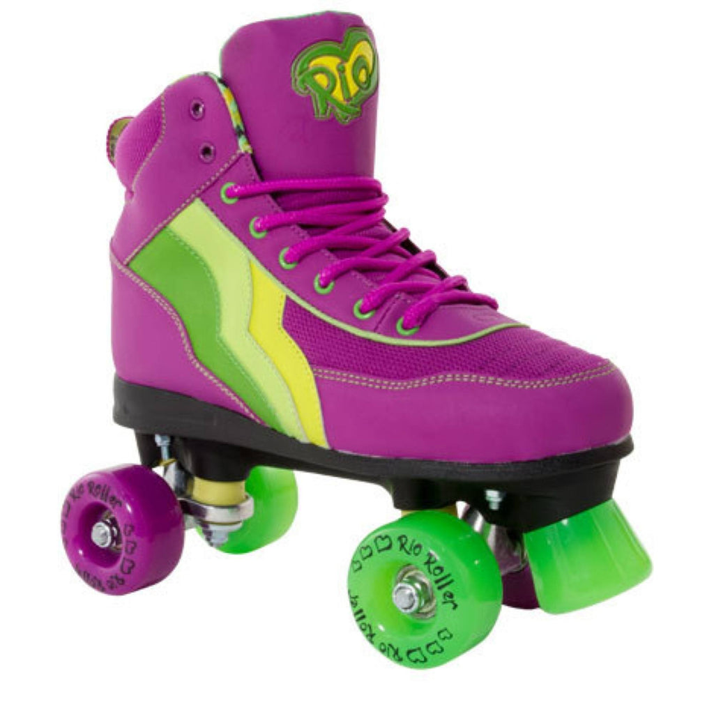 Rio Roller Grape Quad Roller Skates