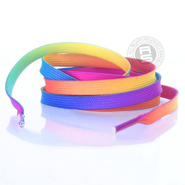 Rio Roller Rainbow 155cm Quad Roller Skate Laces - Main View