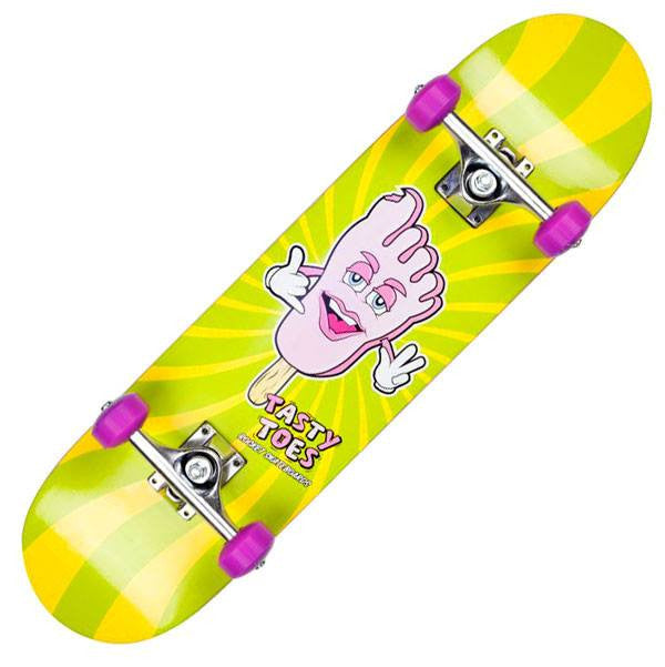 Rocket Popsicle Series Tasty Toes Kids Complete Skateboard - Main View
