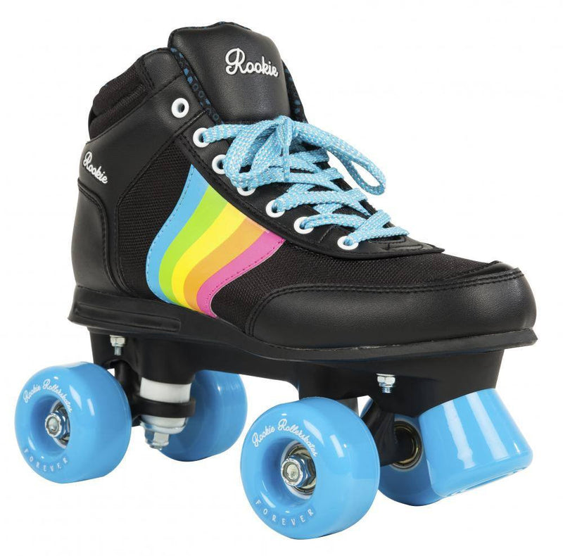 Rookie Forever Rainbow V2 Black/Multi Roller Skates - main view