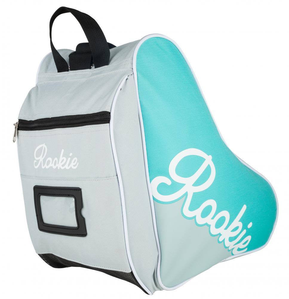 Rookie Logo Skate Bag in Grey and Blue - main image