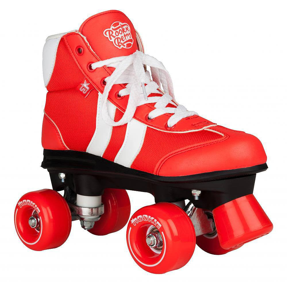 Rookie Retro V2.1 Red/White Roller Skates - main view