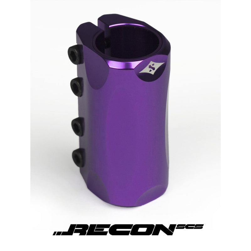 SACRIFICE RECON SCS SCOOTER CLAMP IN POLISHED PURPLE