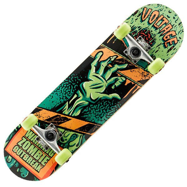 Voltage Zombie Mini Green Skateboard