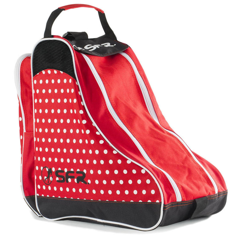 SFR Skate and Ice Bag in Designer Red Polka Dot - main image