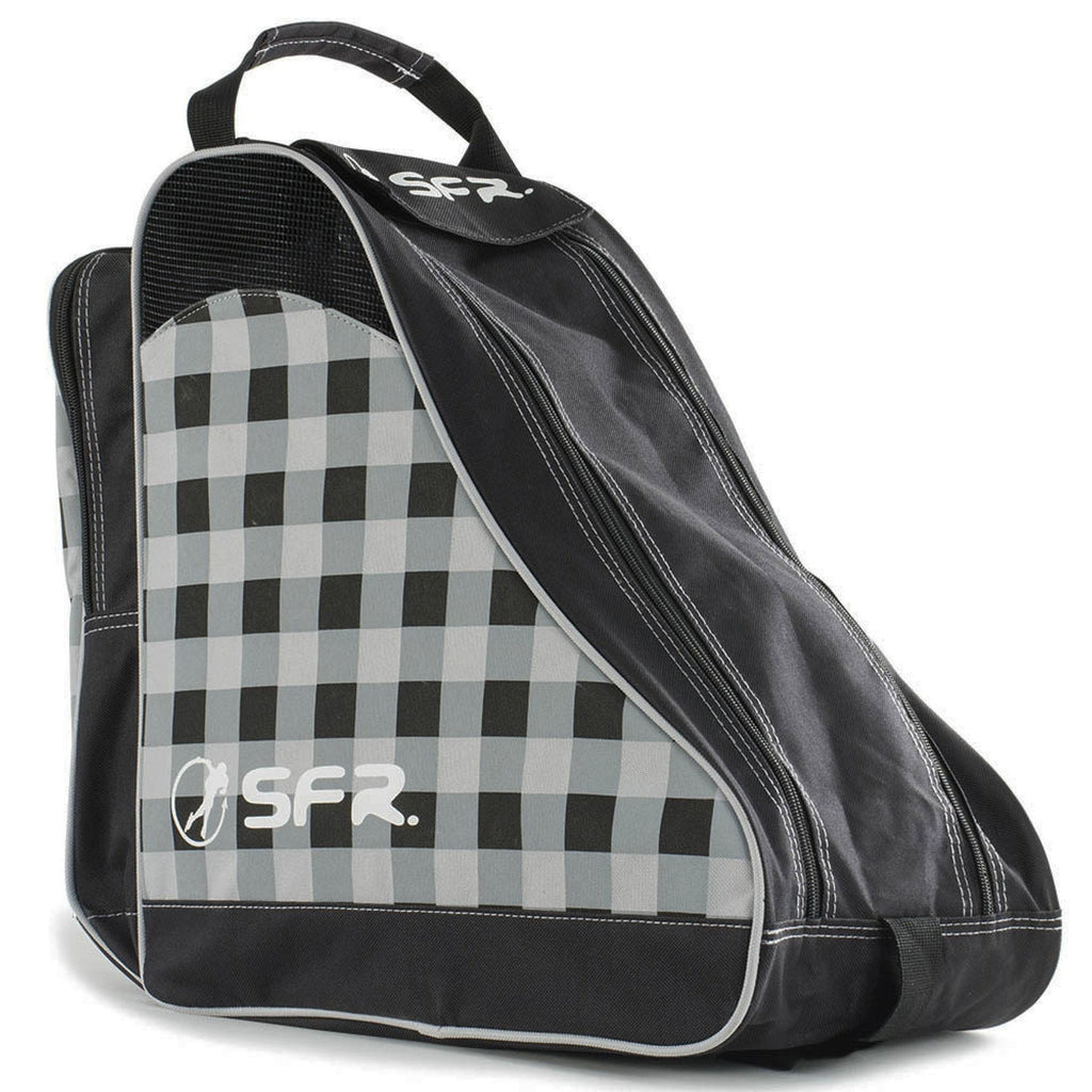 SFR Skate and Ice Bag in Black Chequered Pattern - main view