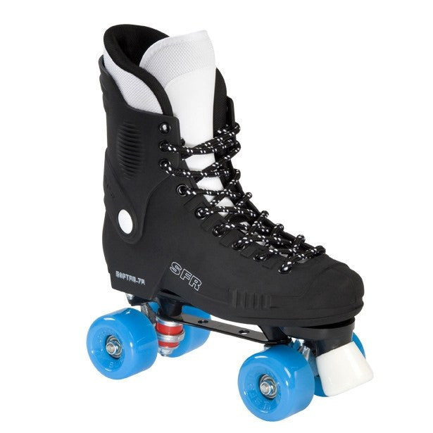 SFR Raptor 76 Blue Wheels Quad Roller Skates - Main View