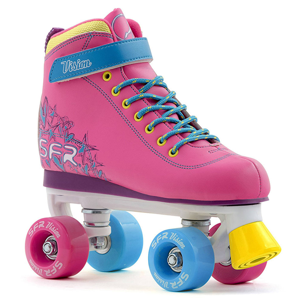 SFR Vision II Tropical Girls Quad Roller Skates - main image