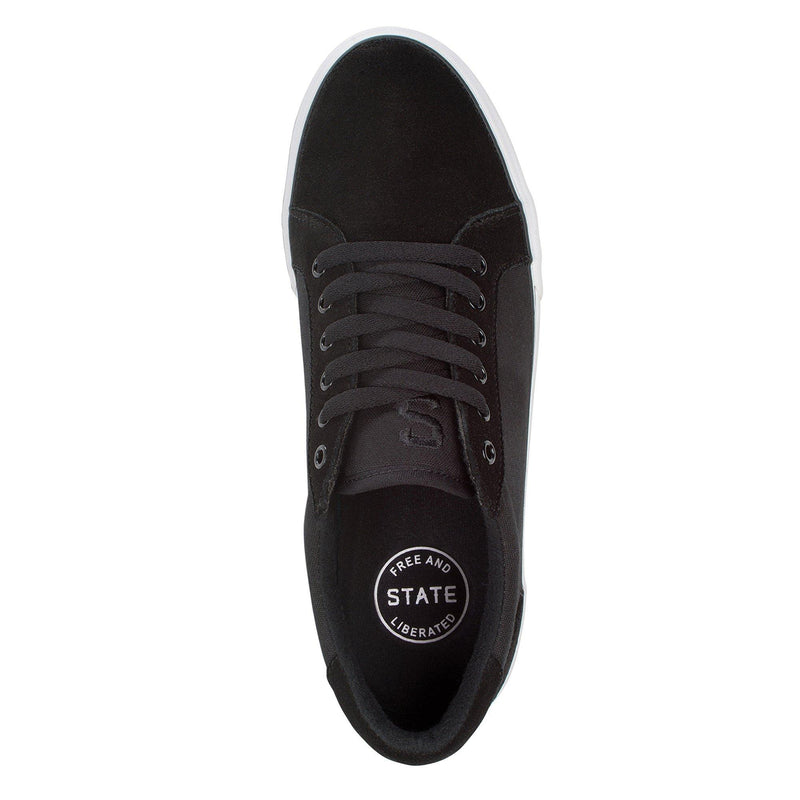 STATE HUDSON SKATE SHOES - TOP VIEW