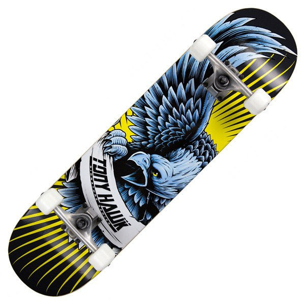 TONY HAWK BLACK YELLOW SKATEBOARD - MAIN VIEW