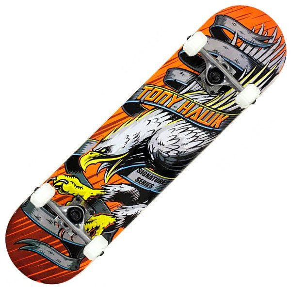 TONY HAWK ORANGE SKATEBOARD - MAIN VIEW