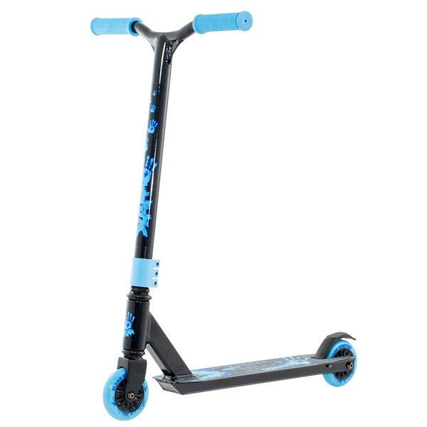 Slamm Tantrum II Black Blue Stunt Scooter - Main View