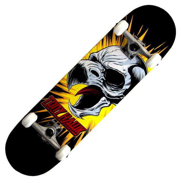 Tony Hawk 360 Series Screaming Hawk Black Complete Skateboard - Main View