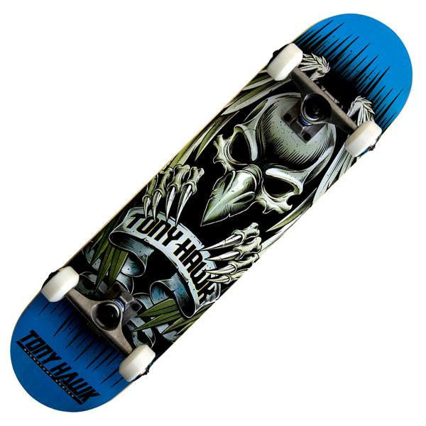 Tony Hawk 540 Series Banner Blue Complete Skateboard - Main View