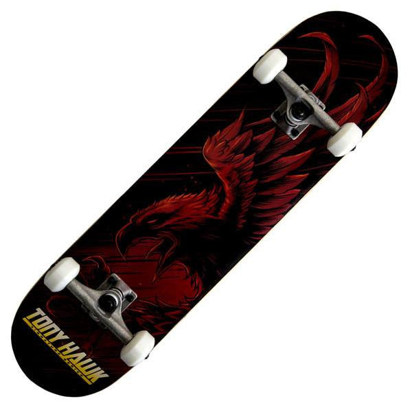 Tony Hawk 360 Series Swoop Red Complete Skateboard - Main View