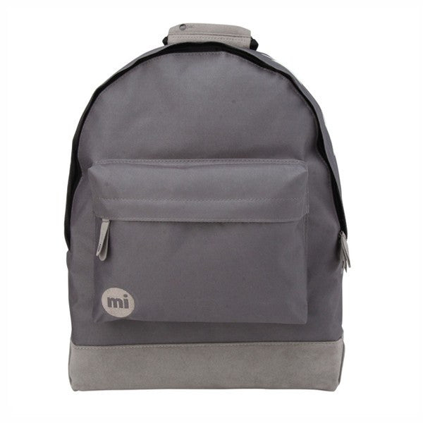 Mi-Pac Charcoal White Top Stars Backpack - Main View