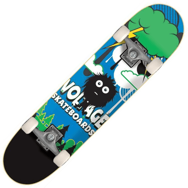 Monster Kids Skateboard - Main View