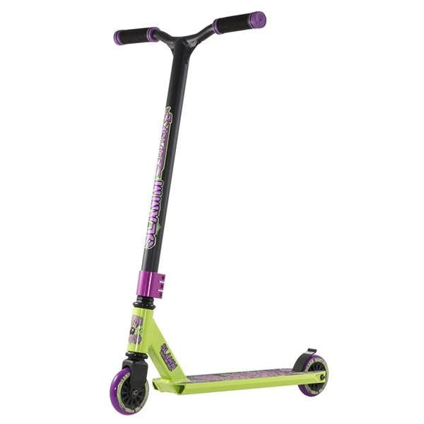 Slamm Urban III Goblin Black Purple Green Stunt Scooter - Main View