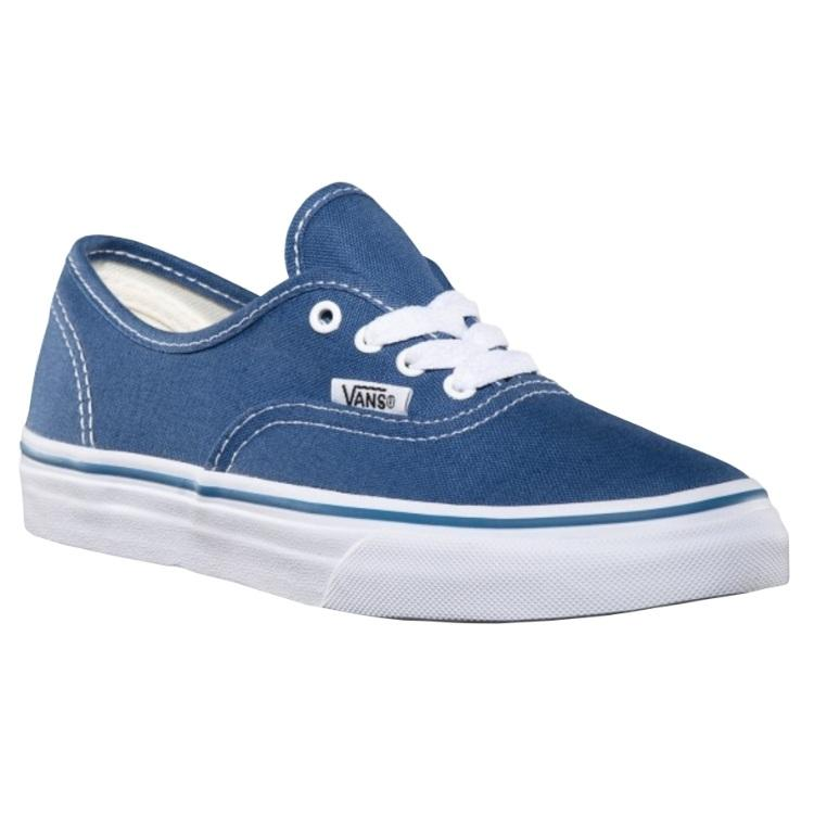 VANS AUTHENTIC NAVY SHOES - MAIN VIEW