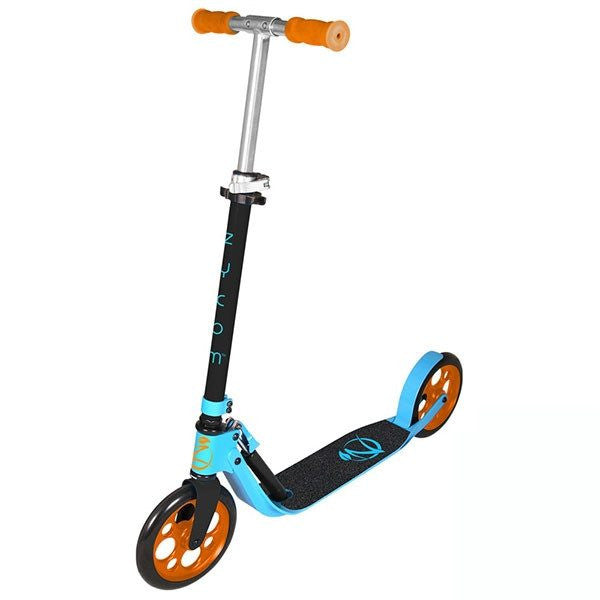 Zycomotion Easy Ride Black Blue Orange Push Scooter - Main View