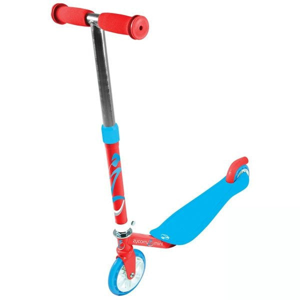 Zycomotion Mini Red Blue Push Scooter - Main View