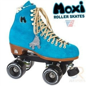 Moxi Pool Blue Quad Roller Skates - Main View