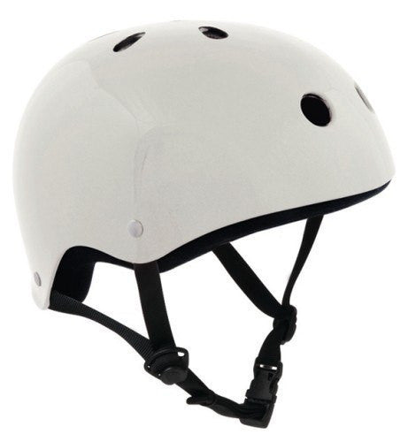 SFR Essentials White Adjustable Skate Bike Helmet - Main View