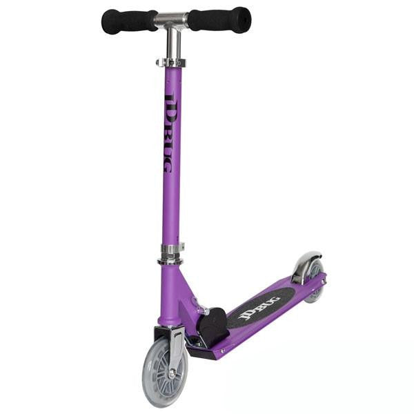 JD Bug Junior Street Matt Purple Push Scooter - Main View