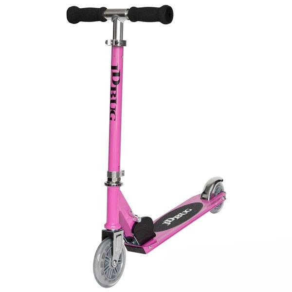 JD Bug Junior Street Pastel Pink Push Scooter - Main View