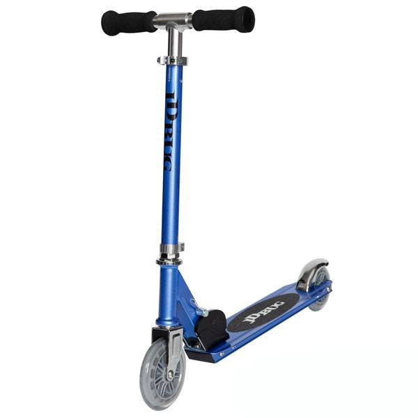 JD Bug Junior Street Reflex Blue Push Scooter - Main View