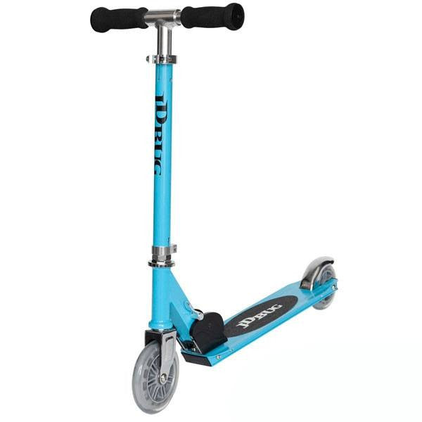 JD Bug Junior Street Sky Blue Push Scooter - Main View