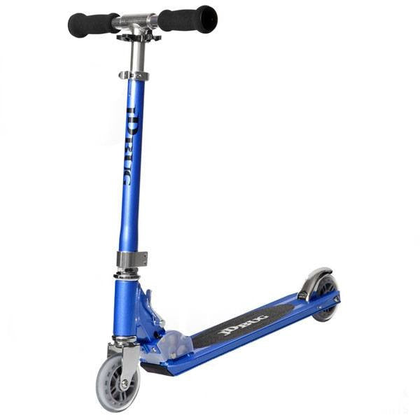 JD Bug Original Street Reflex Blue Push Scooter - Main View