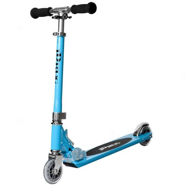 JD Bug Original Street Sky Blue Push Scooter - Main View