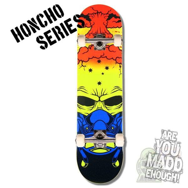 MGP Honcho Series Nuked Complete Skateboard - Main View